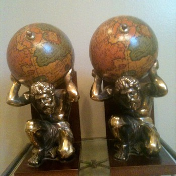 Atlas Italian Made Bookends