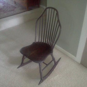 Old Sewing or Child's Rocker