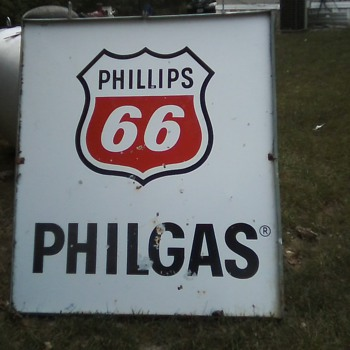 55x48 Phillips 66 PHILGAS Double sided