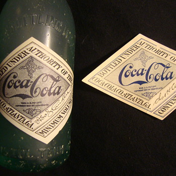 1917 Coca-Cola Label