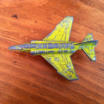Old Metal Airplane - Toys
