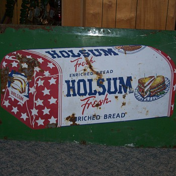 Holsum Bread Sign