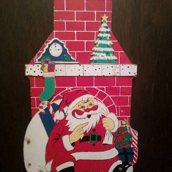 Santa Christmas Card Holder!