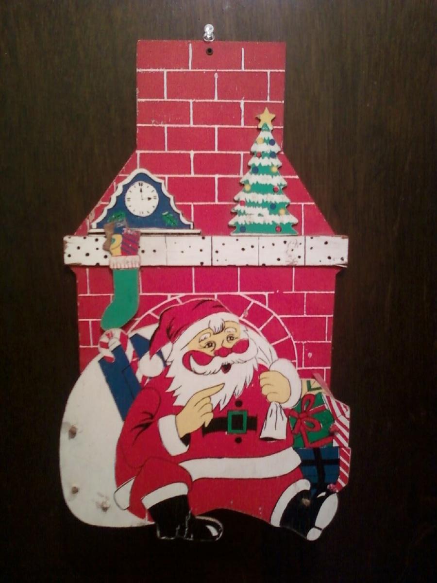 Santa Christmas Card Holder Collectors Weekly