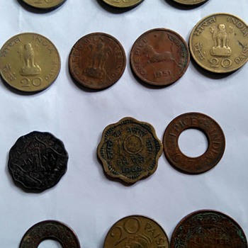 Indian Very Old & Rare Coins - World Coins