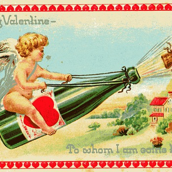 Old Saint Valentine's Day Postcard - Postcards