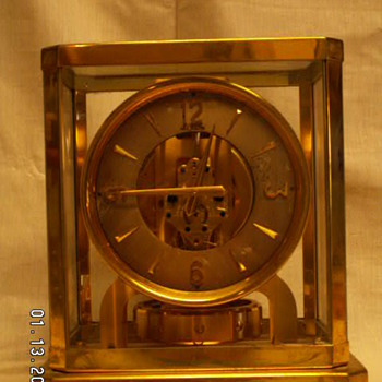 Part 2- 1950's Jaeger-Coultre ATMOS Perpetual Motion Clock - Clocks