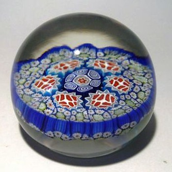 Murano Art Glass Paperweight - Art Glass