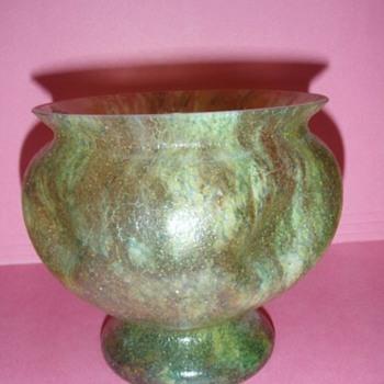 Czech Sandpaper Vases