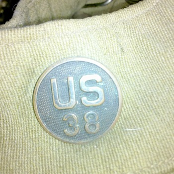 more WWI U.S. Army Collar Discs from my uniform collection #2 - Military and Wartime