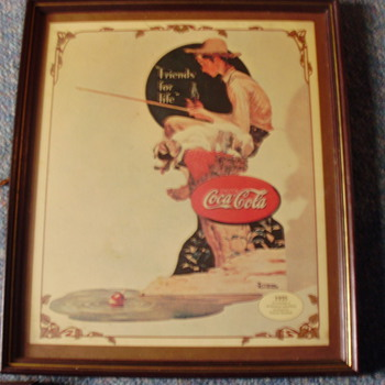 Vintage Coca Cola Pictures - Signs