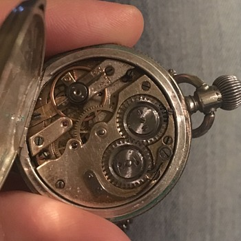 Swiss? Silver Ladies Pocketwatch