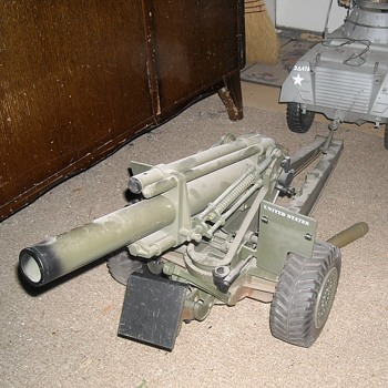 GI Joe 155mm Howitzer Part 2 in Travel Mode - Toys