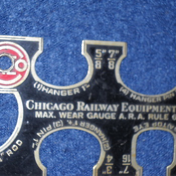 Chicago Railway Equipment Co - Railroadiana