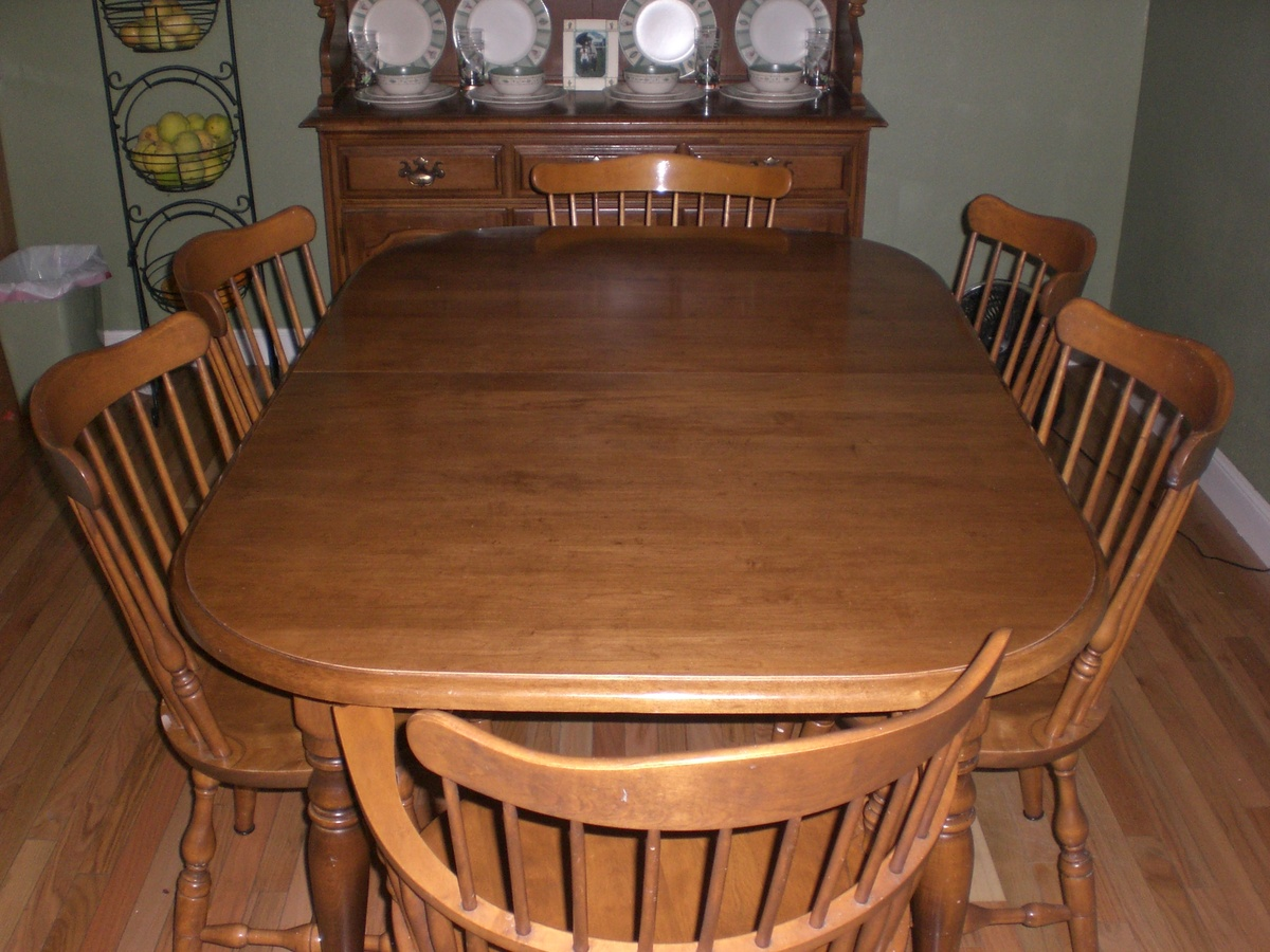 ethan allen dining rm table chairs dining rm table chairs