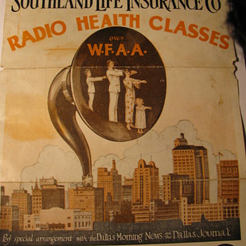 Radio Health Classes fromWFAA in Dallas - Advertising