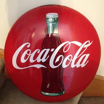 Early 50's Coca-Cola Button