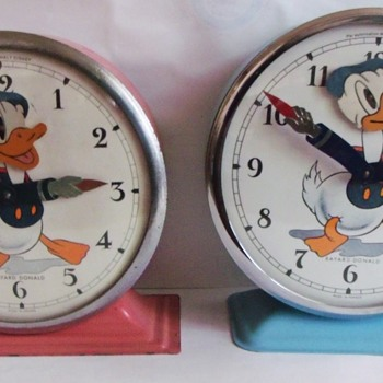 Small Differences between Early and Late Model Bayard Donalds - Clocks