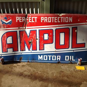 ampol sign - Signs