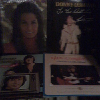 Box of Record Albums from the late 1960&#039;s and early 1970&#039;s