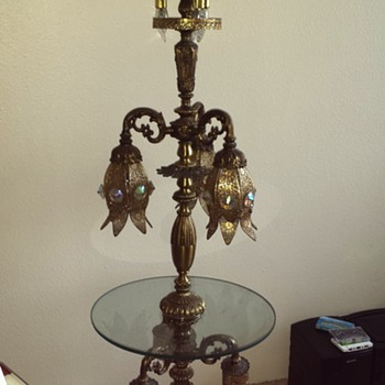 Is Anyone Familiar With This Lamp.. Have Information On It. - Lamps