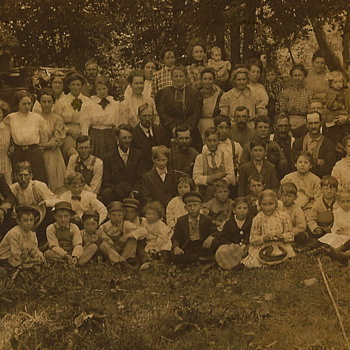 Fish Fry, c. 1909 - Photographs