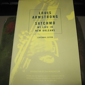 Louis  Armstrong ..Book ,Postcard ,Stamp.. - Books