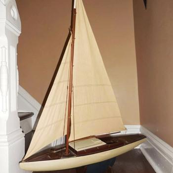 Large Sail boat, seeking info