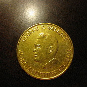 Political George C. Wallace Coin