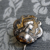 Pin Brooch on lady of France 19 age!