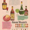 1955 Hiram Walker Cordials Advertisement