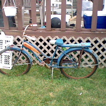 Sk yRay Bicycle 1950's  - Sporting Goods