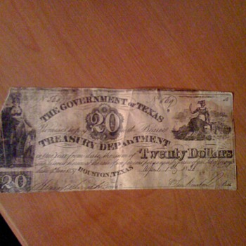 20 dollar note - US Paper Money
