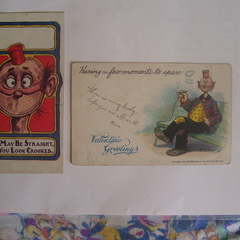 "POSTCARDS OF 1904, ""HAPPY HOOLIGAN"",BY CARTOON STRIP ARTIST  F.OPPER"