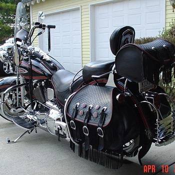 1998  Harley Davidson...FLSTS - Motorcycles