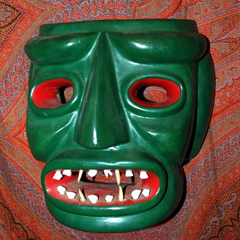 some of my masks - Folk Art