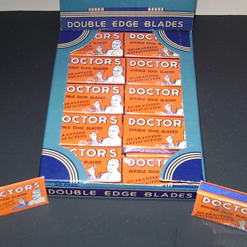 Doctors Razor Blades - Advertising