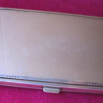 Lady`s cigarette case by Georg Jensen - Sterling Silver