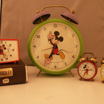 A Few More Mickey Alarms - Clocks