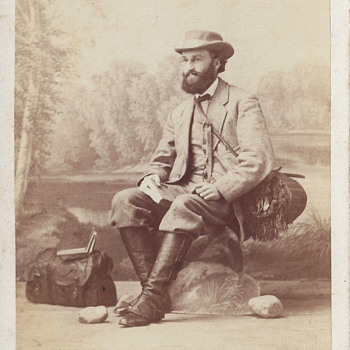 Occupational Scientist or Naturalist CDV by C. Brasch of Berlin, Germany