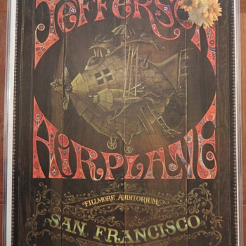 Jefferson Airplane poster, 1967 - Posters and Prints