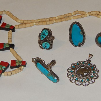 NATIVE AMERICAN? Mexican? Cool pieces! - Fine Jewelry