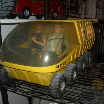 GI Joe Adventure Team Mobile Support Vehicle 1972 - Toys