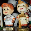 "Vintage Houston Astros ""shooting star logo""  bobble head/nodder."