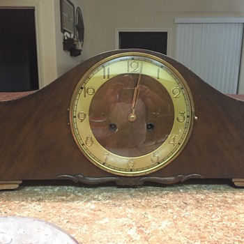 My Mandel antique clock