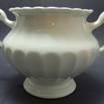 J &amp; G Meakin England Classic White Sugar Bowl? - China and Dinnerware