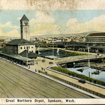 Spokane, Washington Train Stations