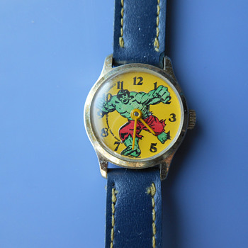 1978 Dabs Hulk Wrist Watch