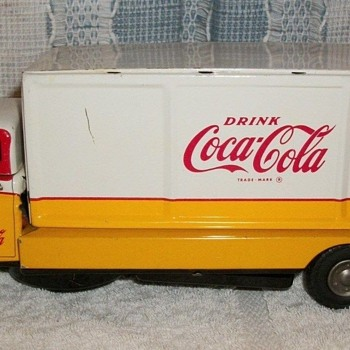 1960's Coca-Cola Japan tin truck