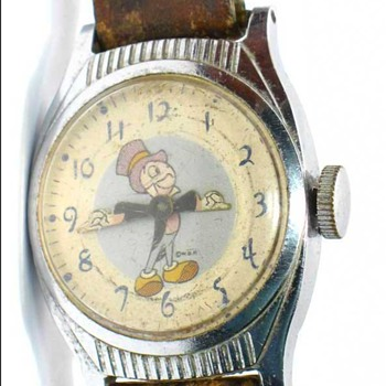 1949 Jiminy Cricket Watch - Wristwatches